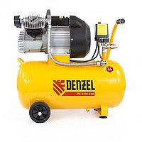 Компрессор пневматический, 2,2 кВт, 350 л/мин, 50 л. DENZEL, фото 1