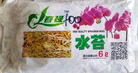 Китайский мох для орхидей. 1л., фото 2