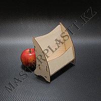 Буклетница деревянная А5 одноярусная , фото 1