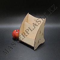 Буклетница деревянная А5 двухъярусная, фото 1
