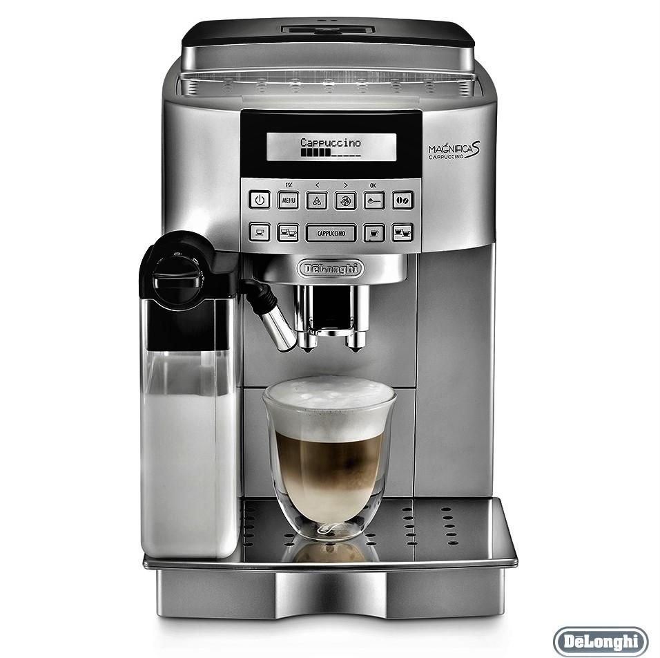 Кофемашина DeLonghi ECAM 22.360.S серебро