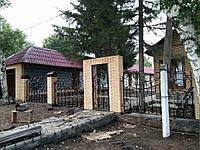 Кованный забор, ограждения, фото 1