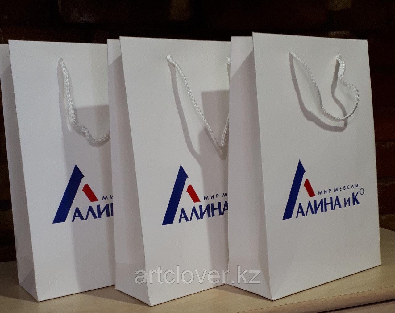 Изготовление бумажных пакетов с логотипом компании
