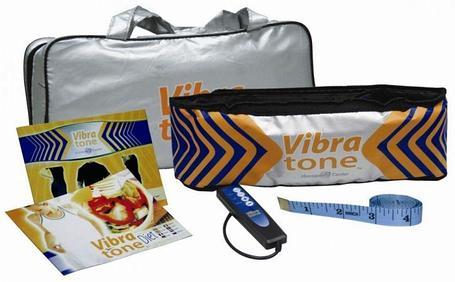 Пояс для похудения Вибротон (Vibra tone), фото 2