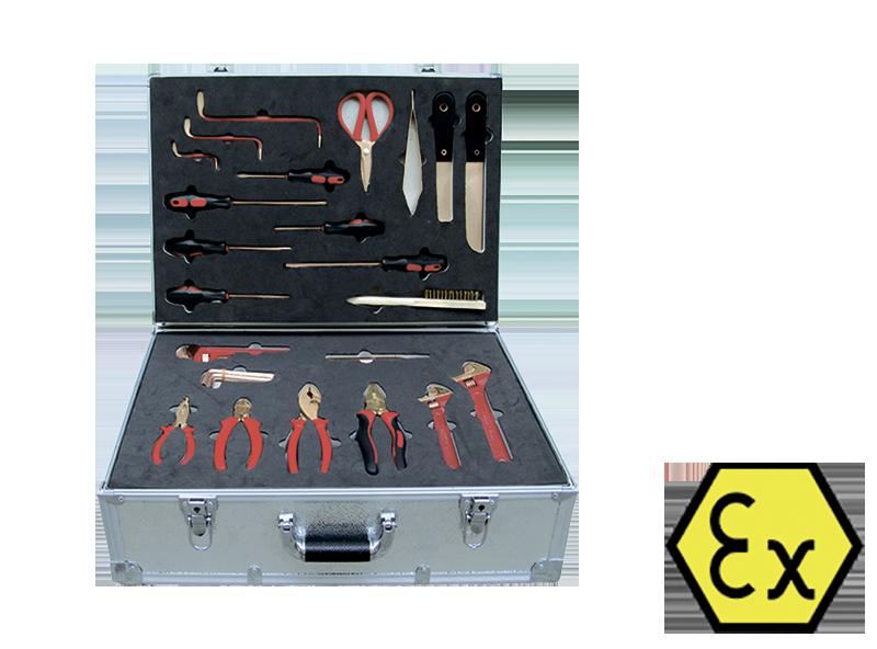 Искробезопасный набор из 40 предметов