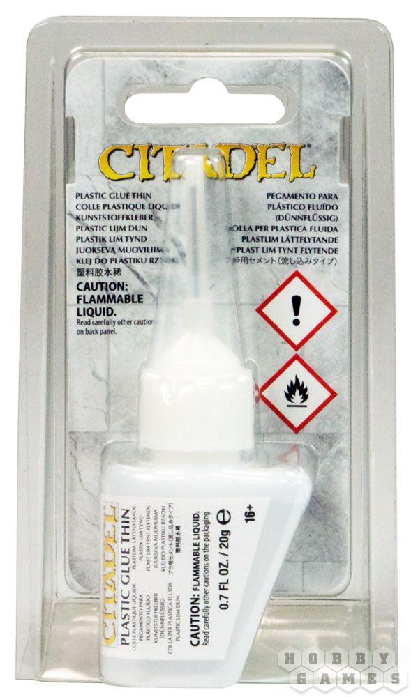 """АКСЕССУАРЫ ВАРХАММЕР: Пластиковый клей жидкий Citadel (Citadel Plastic Glue Thin (Global))"""""""