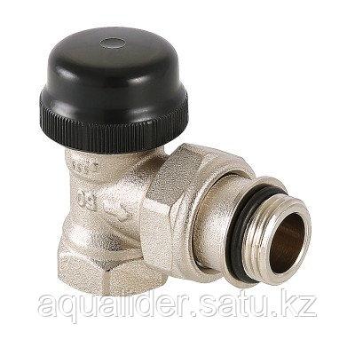 Угловой радиаторный термостатический клапан, фото 2