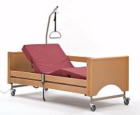Кровать функциональная четырёхсекционная с электроприводами регулировки положения секций GAMMA-1