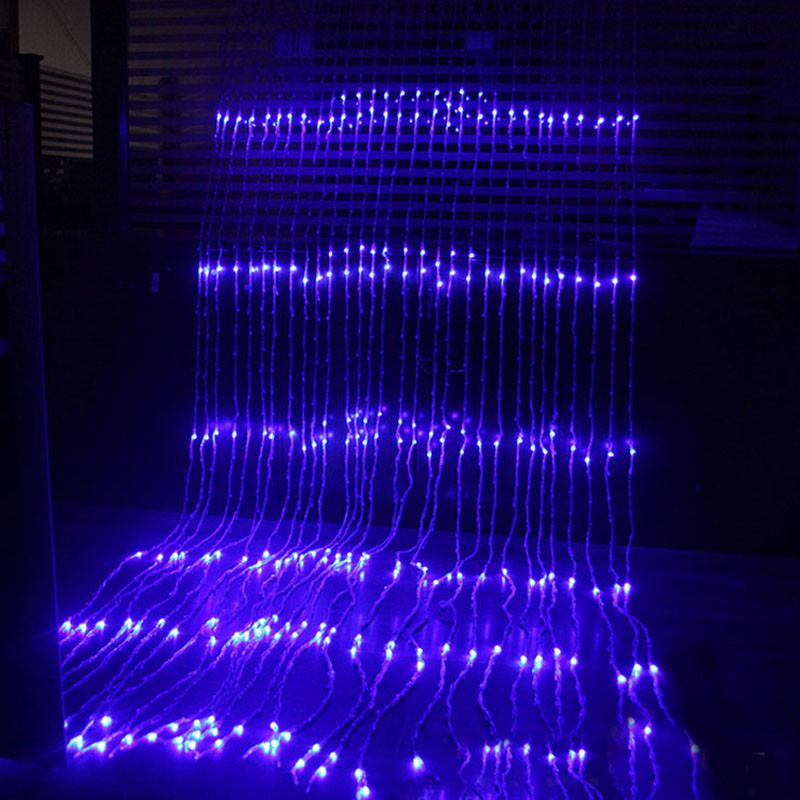 Гирлянды светодиодные, новогодние, уличные Водопад. 2*2 метра
