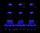Гирлянды светодиодные, новогодние, уличные Водопад. 2*2 метра, фото 2