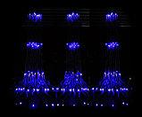 Гирлянды светодиодные, новогодние, уличные Водопад. 2*6 метра, фото 6