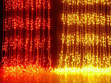 Гирлянды светодиодные, новогодние, уличные Водопад. 2*3 и 3*2 метра, фото 2