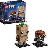 Lego BrickHeadz  Грут и Ракета 41626