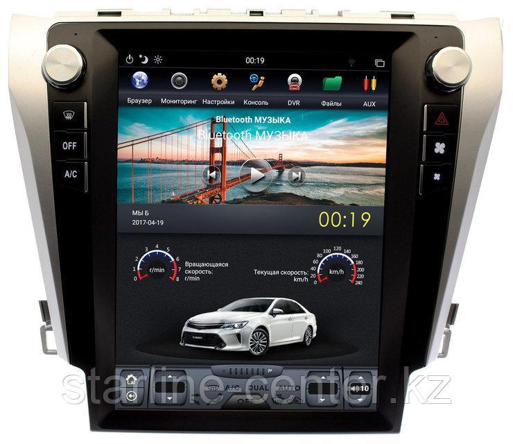 Автомагнитола для Toyota Camry V55 TESLA STYLE Российская прошивка