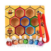 Деревянная игрушка - Пчелиный улей, фото 3