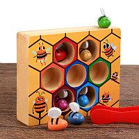 Деревянная игрушка - Пчелиный улей