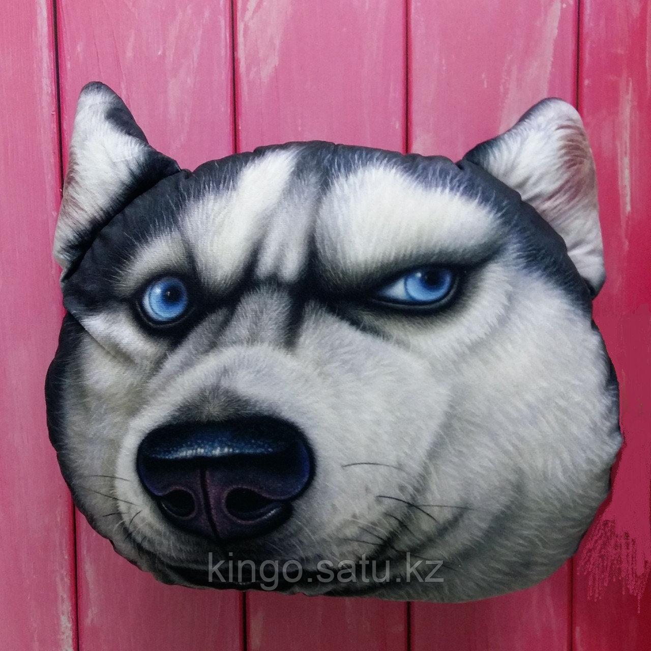 Подушка 3D Кошка, Собака
