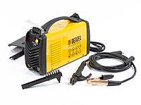 Аппарат инверторный дуговой сварки ММА-160ID, 160 А, ПВР 60 %, D электрода 1,6-3,2 мм, провод 2 м. DENZEL, фото 1