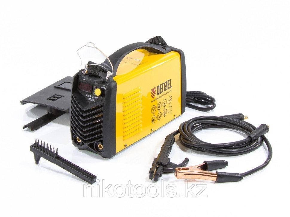 Аппарат инверторный дуговой сварки ММА-220ID, 220 А, ПВР 60%, D электрода 1,6-5 мм, провод 2 м