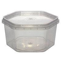 Пластиковая тара под мед - соты 0,4л