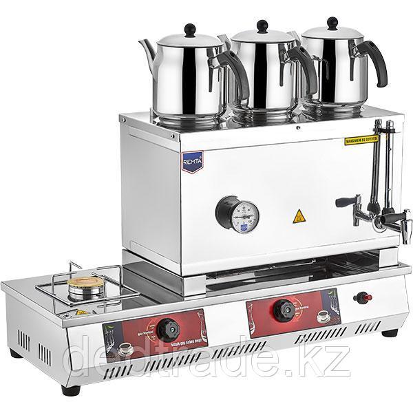 Аппарат для чая газовый с 4 чайником 33 л