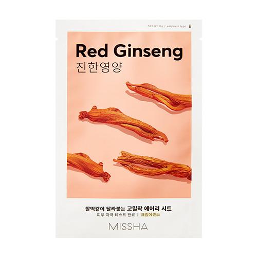 Тканевая маска с экстрактом красного женьшеня Airy Fit Sheet Mask (Red Ginseng)