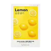 Тканевая маска с экстрактом лимона Airy Fit Sheet Mask (Lemon)