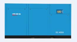 Винтовой компрессор с прямым приводом
