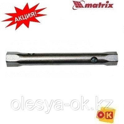 Ключ-трубка торцевой 17 х 19 мм, оцинкованный// MATRIX