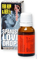 Возбуждающие капли Spanish Love Drops, унисекс, 15 мл