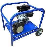 Мини мотопомпа с бензиновым двигателем для для перекачки дизельного топлива Танкер-150, пр-ть 150л/мин