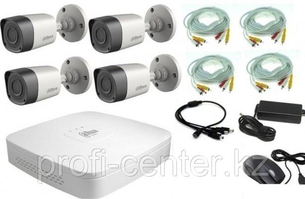 DAHUA KIT/HCVR4104C-S3/4-HFW1000RP-0360B-S3 Комплект видеонаблюдения
