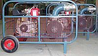 Мотопомпа с бензиновым двигателем для перекачки дизельного топлива 049