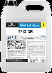 Trio-gel - средство для мытья унитазов и сантехники .5 литорв. РФ