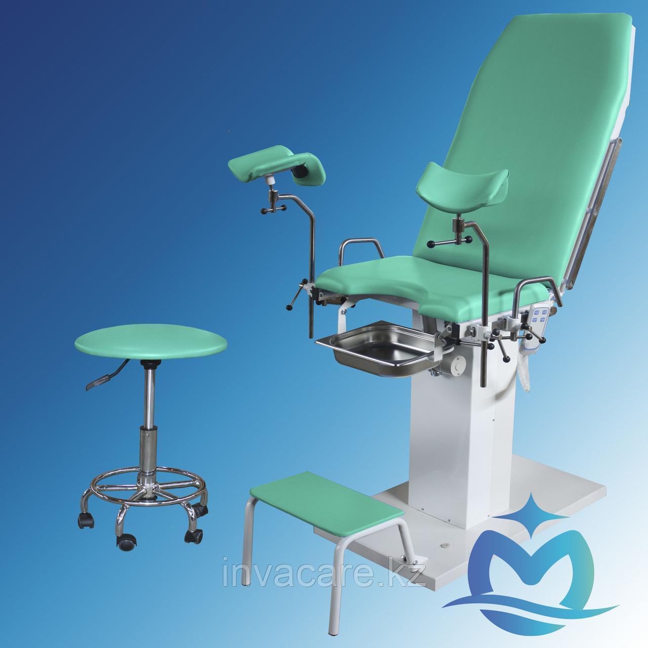 Кресло гинекологическое КГ-01 ОКА-МЕДИК (электроприводное изменение углов наклона спинки и сиденья)