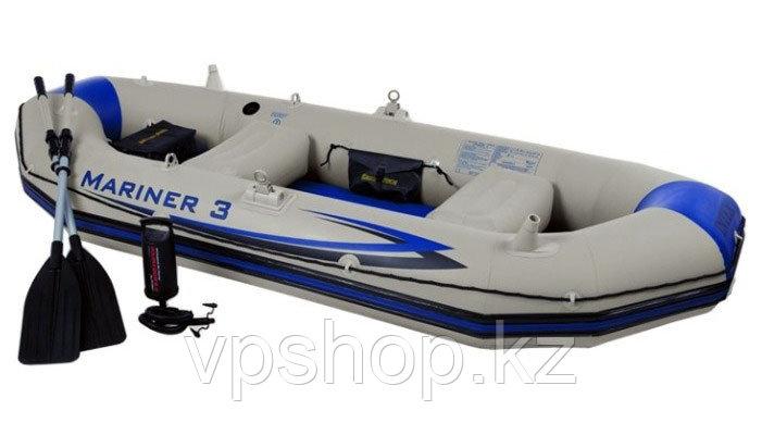 Надувная лодка Intex Mariner 3 68373 - трехместная лодка доставка