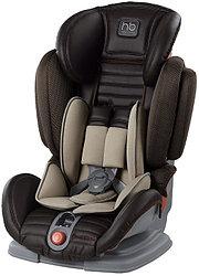 Автокресло Happy Baby Mustang Black (темно-коричневое)