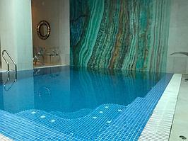 """Переливной бассейн. Размер = 2,8 х 2,9 х 1,7 м. Адрес: к.г. """"ЭДЕЛЬВЕЙС"""". 2"""