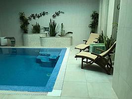 """Переливной бассейн. Размер = 2,8 х 2,9 х 1,7 м. Адрес: к.г. """"ЭДЕЛЬВЕЙС"""". 9"""