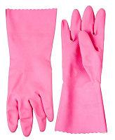 """Перчатки ЗУБР """"МАСТЕР"""" латексные, повышенной прочности, х/б напыление, рифлёные, размер L"""