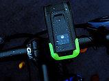 Велосипедная фара 720 (360*2) LM LM,  2 светодиода T6LED + аккум. 4000 mA/H 8,4v. (номинал 7,4v), фото 3