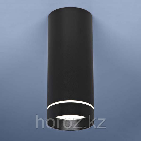 Светильник светодиодный накладной черный LED 12 ватт