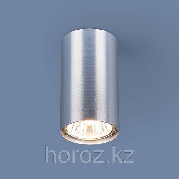 Светильник точечный накладной сатин хром