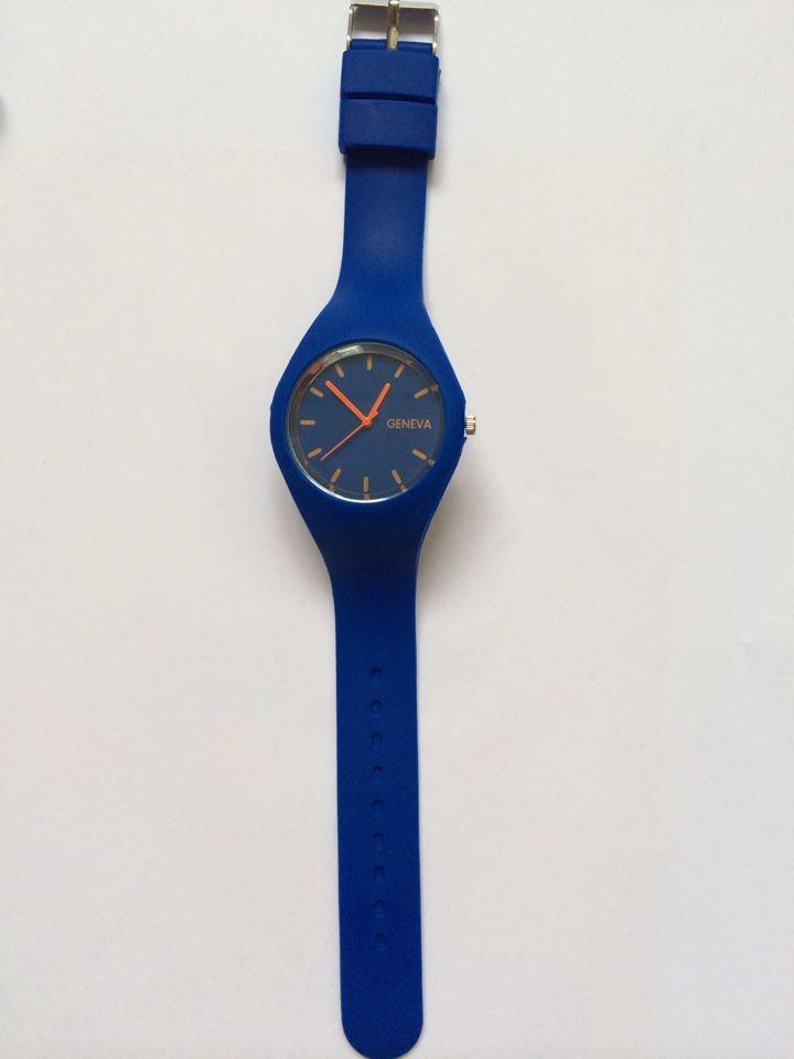 Женские часы Geneva силиконовый ремешок. Рассрочка. Kaspi RED - фото 1