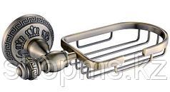 Мыльница метал. решетка OUTE TG2104 бронза
