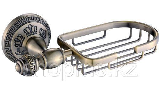 Мыльница метал. решетка OUTE TG2104 бронза, фото 2