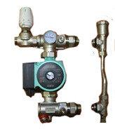 ТП Насосно-смесительный узел для теплого пола MINI RVC Pro КОМПЛЕКТ №4 (0-150 м2)