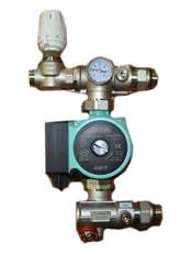ТП Насосно-смесительный узел для теплого пола MINI RVC Pro КОМПЛЕКТ №2 (0-150 м2)