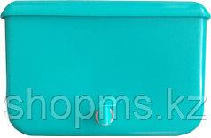 Рукомойник пластмассовый с краном 9л зеленый/синий