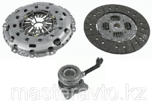 SACHS 	Комплект сцепления 3 XTend Kit plus CSC Ford Transit 2.2TDCi 06- NEW